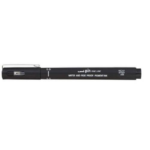 Caneta Uniball Uni Pin 0.5Mm - Preta Sem Blister