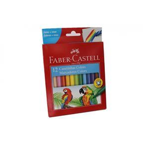 Canetinha 12 Cores Faber Castell