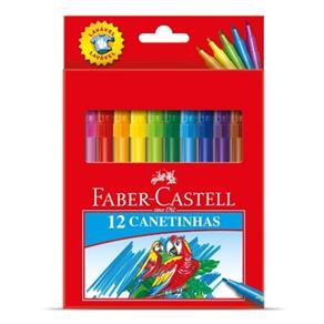 Canetinhas Hidrográficas 1 Cores Estojo Cartao - Faber Castell