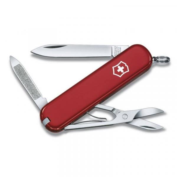 Tudo sobre 'Canivete Signature Victorinox Vermelho'