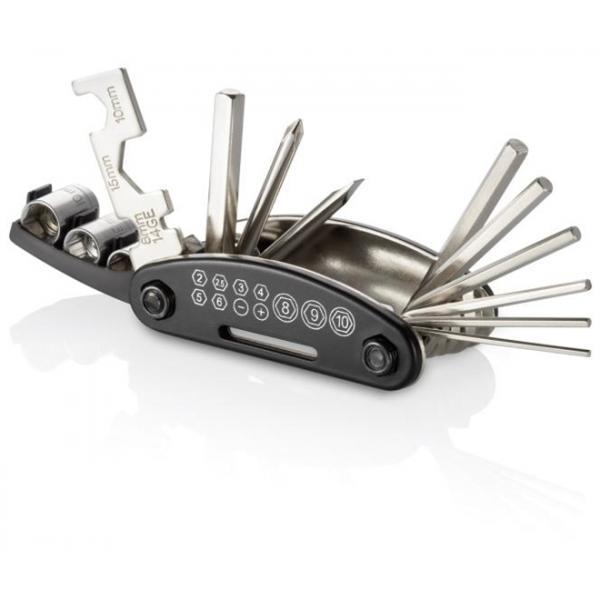 Canivete Portátil com 15 Ferramentas Multifuncionais para Bicicleta BI032 Atrio.