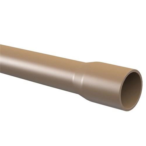 "Cano Marrom PVC Soldável 20mm ou 1/2"" 6.00m Tigre"