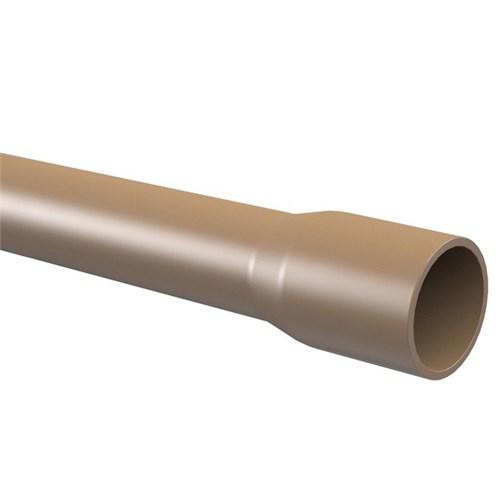 "Cano Marrom PVC Soldável 60mm ou 2"" 6m Tigre"