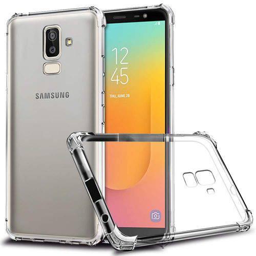 Tudo sobre 'Capa Anti Shock e Pelicula de Vidro Samsung Galaxy J8 - J810'