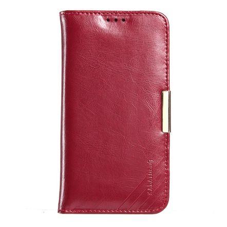 Tudo sobre 'Capa Carteira Kalaideng Royale II em Couro Legitimo para Samsung Galaxy S7 Edge-Vermelha'