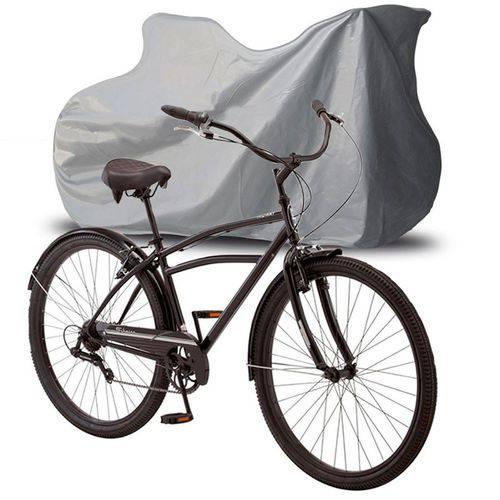 Capa Cobrir Bicibleta Bike Protetora Forrada Impermeável Até Aro 29 Carrhel