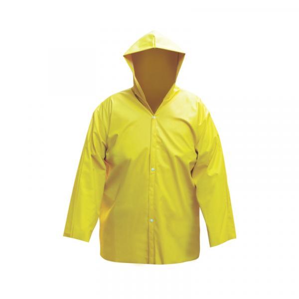 Capa de Chuva Forrada Amarela G - Plastcor