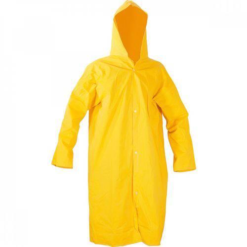 Capa de Chuva Forro Amarelo G - Policap