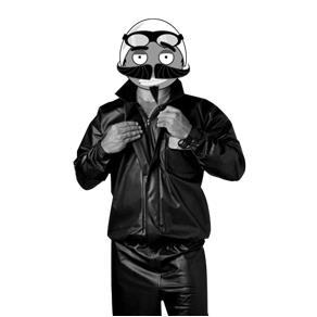 Capa de Chuva para Motoqueiro Conjunto Jaqueta e Calça - GG