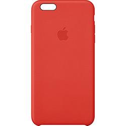 Capa de Couro para IPhone 6 - Vermelha