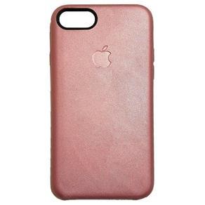 Capa de Couro para Iphone 7 - Rosa