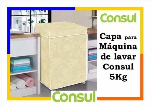 Tudo sobre 'Capa de Máquina de Lavar Consul 5Kg'