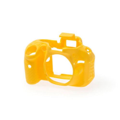 Capa de Silicone para Nikon D5200 - Amarela