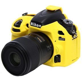 Capa de Silicone para Nikon D600 e D610 - Amarela
