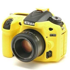 Capa de Silicone para Nikon D7100 e D7200 - Amarela