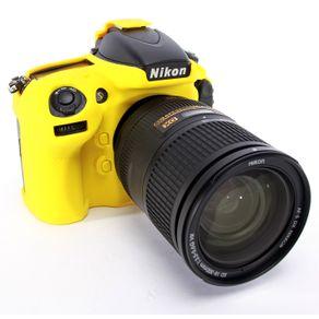 Capa de Silicone para Nikon D800 e D800E - Amarela