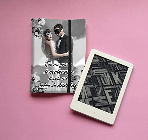 Capa P/Kindle - 50 Tons de Cinza