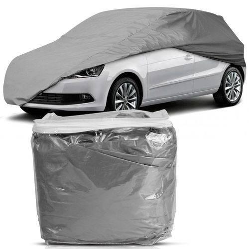 Tudo sobre 'Capa para Cobrir Carro Impermeável com Forro Central P'