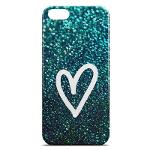 Capa para Iphone 4 e 4s de Plástico - Coração