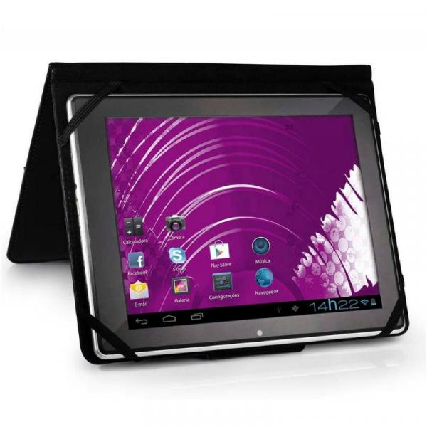"Capa para Tablet 7"" Universal Preto BO182 - Multilaser"
