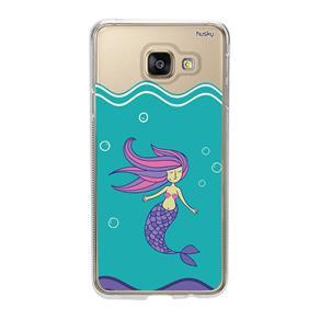 Capa Personalizada para Galaxy A3 2016 - Sereia - Husky