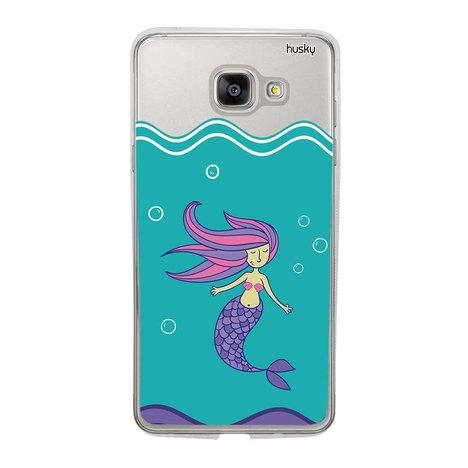 Capa Personalizada para Galaxy A5 2016 - Sereia - Husky