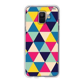 Capa Personalizada para Galaxy A6 - Triangulos - Husky