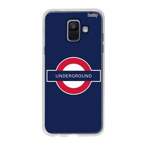 Capa Personalizada para Galaxy A6 - Underground - Husky
