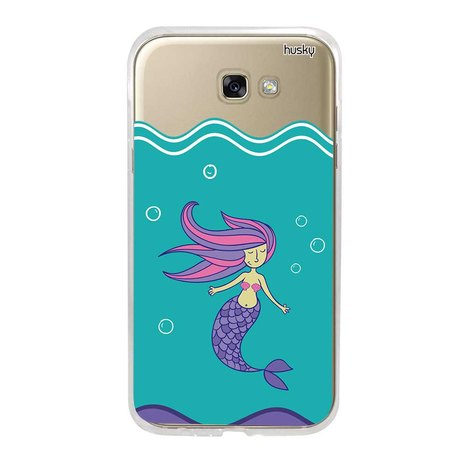 Capa Personalizada para Galaxy A7 (2017) - Sereia - Husky