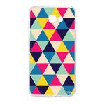 Capa Personalizada para Galaxy A7 (2017) - Triangulos - Husky