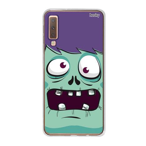 Capa Personalizada para Galaxy A7 (2018) - Zumbi - Husky