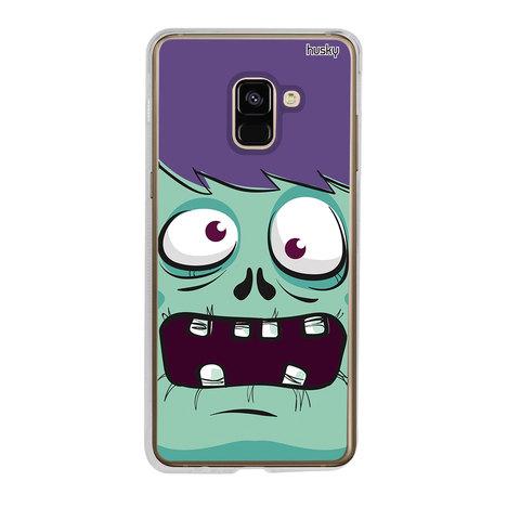 Capa Personalizada para Galaxy A8 (2018) - Zumbi - Husky