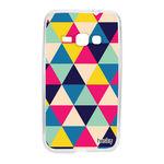 Capa Personalizada para Galaxy J1 2016 - Triangulos - Husky