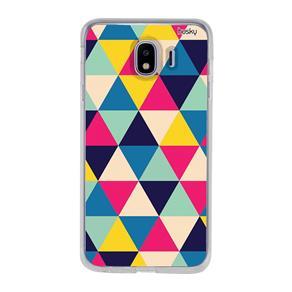 Capa Personalizada para Galaxy J4 - Triangulos - Husky