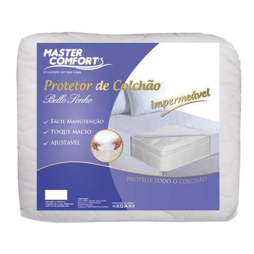 Capa Protetor Impermeável Matelassê Solteiro Master Comfort