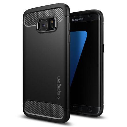 Tudo sobre 'Capa Protetora Spigen Rugged Armor para Samsung Galaxy S7 Edge'