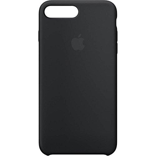 Capa Silicone Case para Apple Iphone 7 Plus / 8 Plus (Preta)