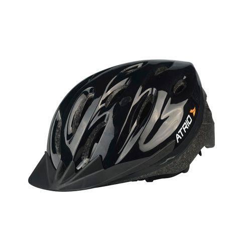 Tudo sobre 'Capacete Bike Atrio Mtb Preto - G'