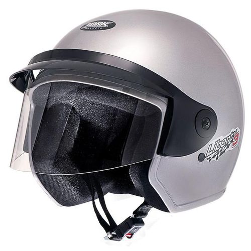 Capacete Moto Aberto Pro Tork Liberty Three 58 Prata