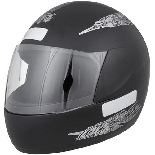 Capacete Moto Liberty Four Tam.60 Preto Fosco Pro Tork