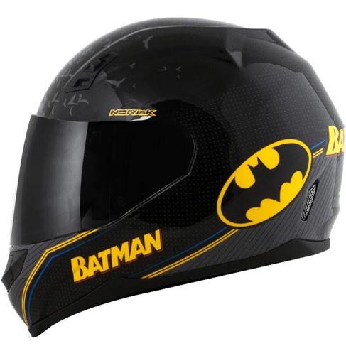 Tudo sobre 'Capacete Norisk FF391 Batman SYMBOL Preto'