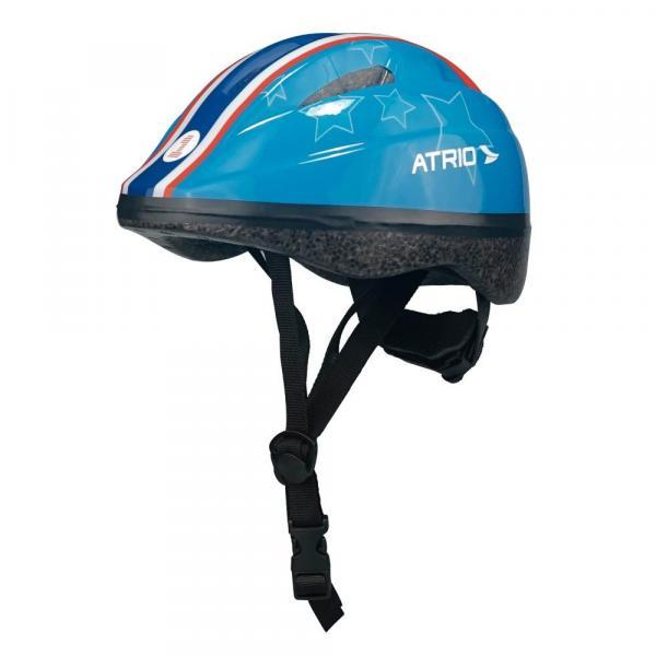 Capacete para Ciclismo Infantil Azul Estrela - PP - Atrio