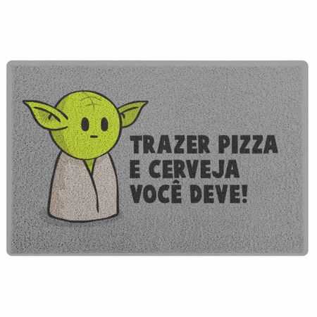 Tudo sobre 'Capacho em Vinil DrPepper Mestre Mini-Yoda'