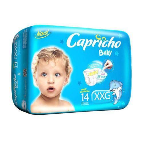 Tudo sobre 'Capricho Baby Prática Fralda Infantil Xxg C/14'