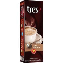 Cápsula de Café com Leite Tres - 10 Cápsulas