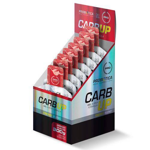 Tudo sobre 'Carb Up Gel (10 Sachê) - Probiótica - Nova Emabalagem'