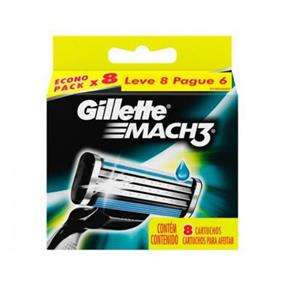 Carga Gillette Mach3 Regular 8 Unidades