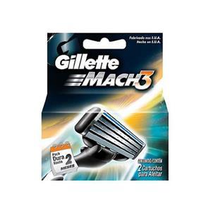 Carga Gillette Mach3 Regular C/2