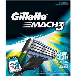 Carga Gillette Mach3 - 2 Unidades