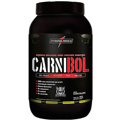 Tudo sobre 'Carnibol 907g Chocolate'